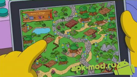 The Simpsons™: Tapped Out 4.7.4 Мод (Free Shopping)