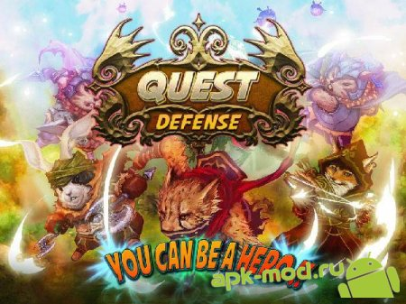 Quest Defense - Tower Defense 1.1.41 (Mod Money)