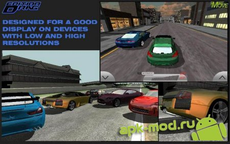 Drag Edition Racing 3d 2014 1.06