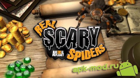 Real Scary Spiders 1.1.3 Mod (Unlimited Coins + Gems)