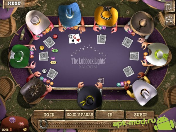 Download governor of poker 2 mod apk