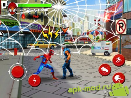 Игра для андроида spider man total mayhem hd на андроид