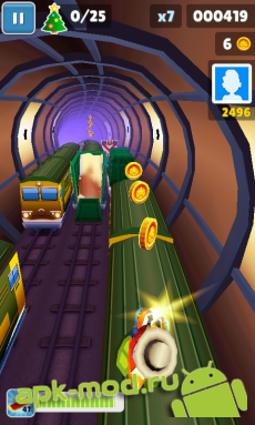 Взлом Subway Surfers Лондон на андроид