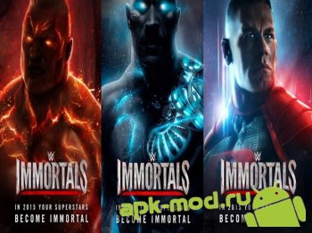 Мод WWE Immortals для андроид